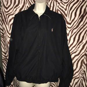 Polo by Ralph Lauren medium Black and Tan jacket
